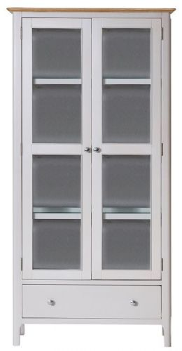 Belmont Painted Display Cabinet with Lights